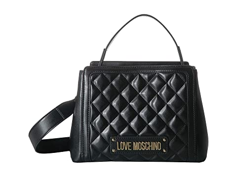 LOVE Moschino Shiny Quilted Handbag