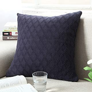 Best navy knitted cushion Reviews
