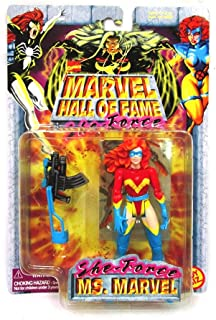 Marvel MS Comics Hall of Fame SHE-Force Series 1997 Action Figure and Collector Trading Card