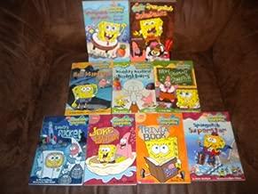 Set of 9 Spongebob Squarepants ~ Sandy's Rocket, Spongebob Airpants: the Lost Episode, New Student Starfish, Joke Book, Spongebob Jokepants, Spongebob Superstar, Hall Monitor, Naughty Naughty Neighbors, Trivia book