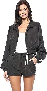 Women's Lightweight Fashion Windbreaker Zip Up Jacket