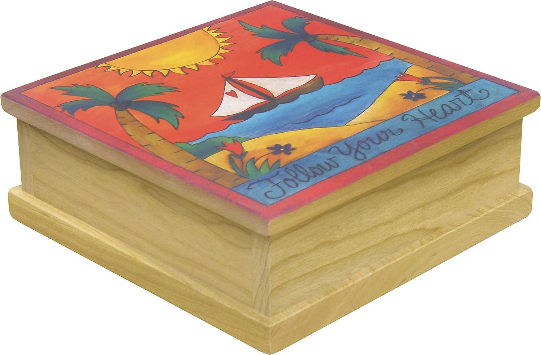 Wear Your Heart on Sail- Sincerely Box 8W- Keepsake Sticks Phoenix Mall Rapid rise