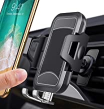itaomi [German Tech Guarantee] Air Vent Car Phone Mount, Universial Smartphone Cell Phone Holder Compatible with iPhone Xs XS Max XR X 8 8+ 7 7+ SE 6s 6+ 6 5s 4 Samsung Galaxy S10 S9 S8 etc