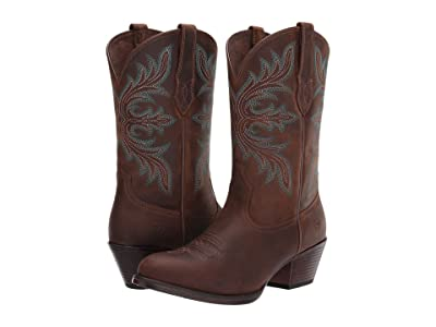 Ariat Runaway (Distressed Brown) Cowboy Boots