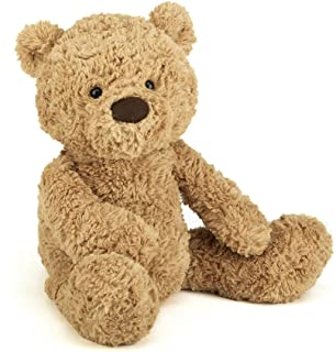 Jellycat Bumbly Bear Stuffed Animal, Medium, 17 inches
