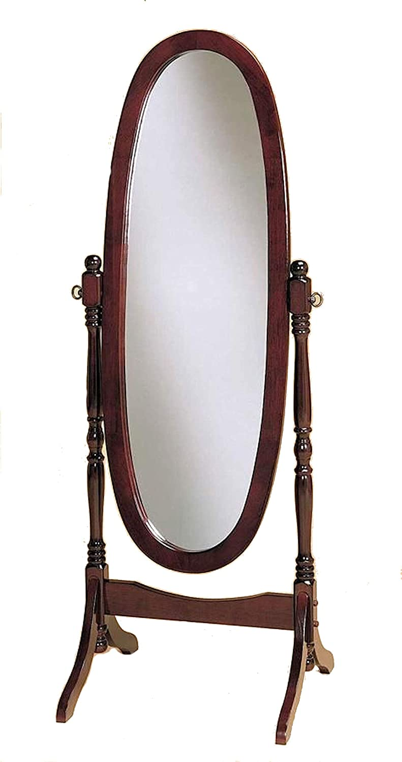 Crown Ranking TOP19 Mark Cheval Mirror Cherry Max 50% OFF Oval Brown