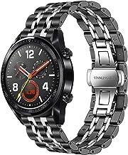 TRUMiRR kompatibel med Huawei Watch GT Elegant/Huawei Watch GT/Huawei Watch GT Active Strap, snabbfrigörande klockarmband ...