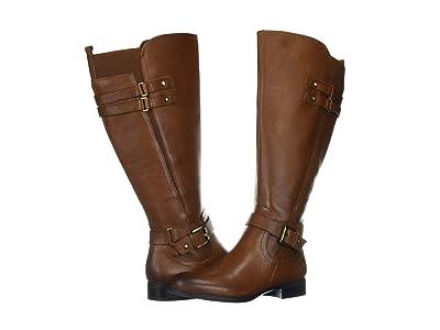 Naturalizer Jackie Wide Calf (Cinnamon Leather) Women