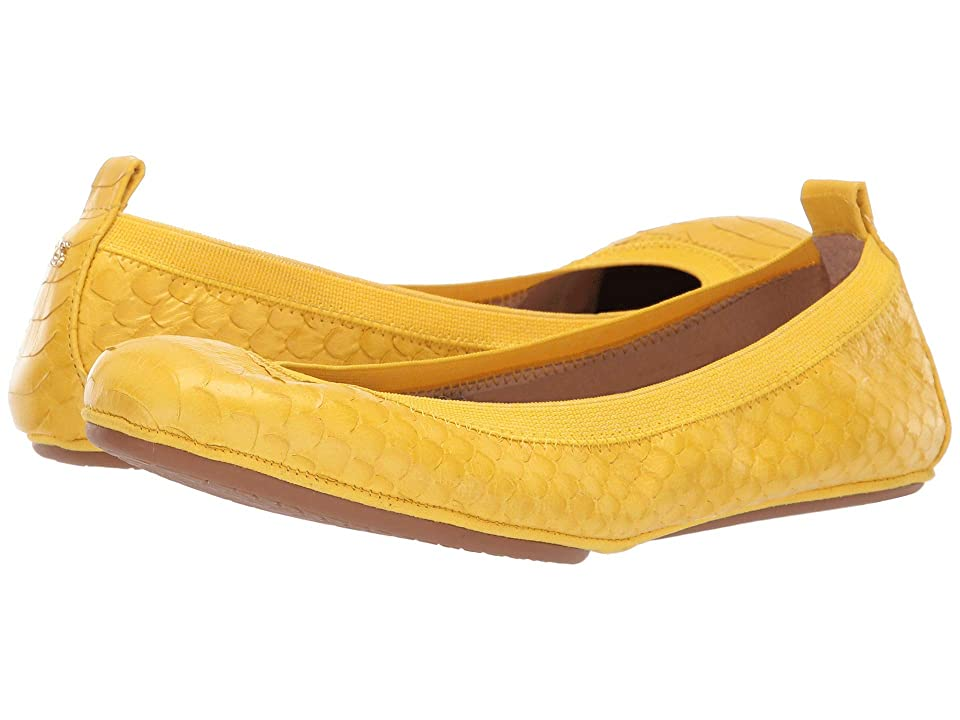 Yosi Samra Samara (Yellow Scaled Leather) Women