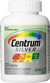 Centrum Silver Multivitamin, 220 Tablets (2 pack)