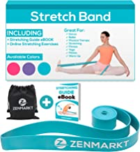 Zenmarkt Stretch Bands for Dancers and Gymnasts - Exercise Bands for Dance, Ballet, Gymnastics, Cheerleading, Pilates Training Stretching Band Dance Stretch Bands for Flexibility Ballet Barre E-Book