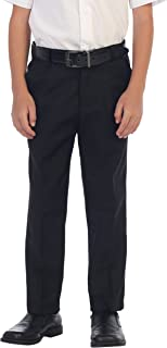 Boys Flat Front Dress Pants