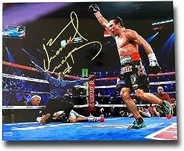 Juan Manuel Marquez Signed 16x20 Photo COA Autograph vs. Manny Pacquiao Boxing