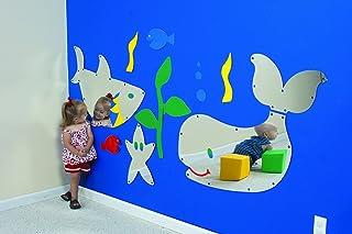 Children's Factory 35 in. Mini Sea Me Mirror Aquarium