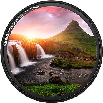 67mm Haze UV Multithreaded Glass Filter for Sony Alpha DSLR-A550 1A Multicoated