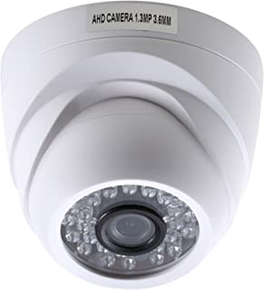 UHPPOTE 1.3MP 960P Indoor AHD CCTV Dome Security Camera 30Pcs IR LED Night Vision 3.6mm