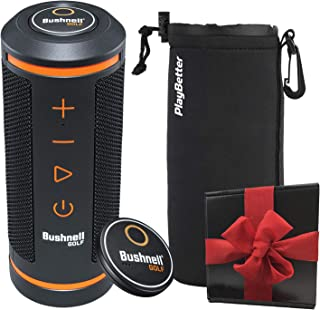 $174 » Bushnell Wingman Golf GPS Speaker Gift Box Bundle | Includes Wingman, Protective Wingman Pouch, Gift Box, Red Bow | Perfec...