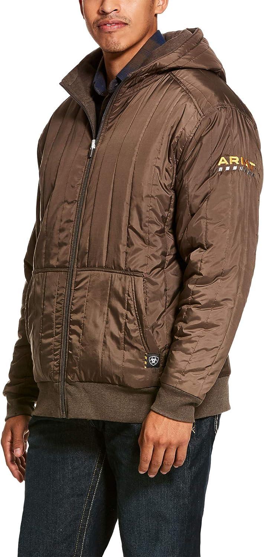 ARIAT Men's Rebar Cold Weather Reversible Full Zip Hoodie