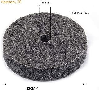 Join Ware 150MM 25MM Thick Nylon Fiber Wheel Abrasive Polishing Buffing Disc Abrasive Disc Polishing Tools 2pcs