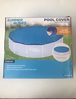 Summer Waves Pool Cover for 10 to 15 ft Pools