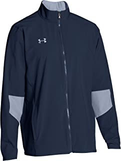 Under Armour Men's Squad Woven Warm-up Full Zip Jacket Large Multicoloured