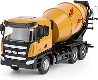 Alloy Mixer Toy 1:50 Die-Cast Construction Vehicle Model, Inertial Advance, Collection/Decoration/Gift/Toy