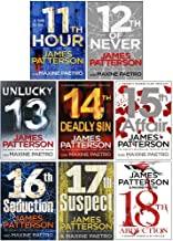 Women's Murder Club Series 11-18 Collection 8 Books Set By James Patterson (11th Hour, 12th of Never, Unlucky 13, 14th Dea...