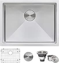 Ruvati 21-inch Undermount Tight Radius 16 Gauge Stainless Steel Bar Prep Kitchen Sink..