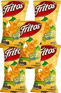 FRITOS SAL Y LIMÓN 62g (Box with 5 bags)