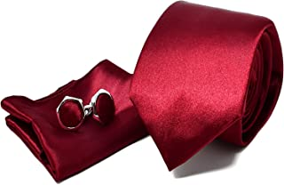 b9c0f83036dd7 Amazon.fr : Costume Homme Mariage Blanc - Coffrets cravate ...