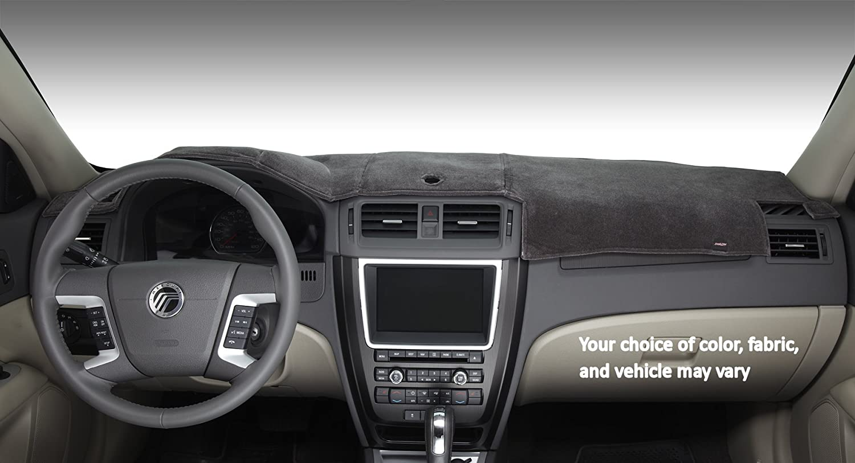 Faux-Suede, Black DashMat SuedeMat Dashboard Cover Volvo C30//S40