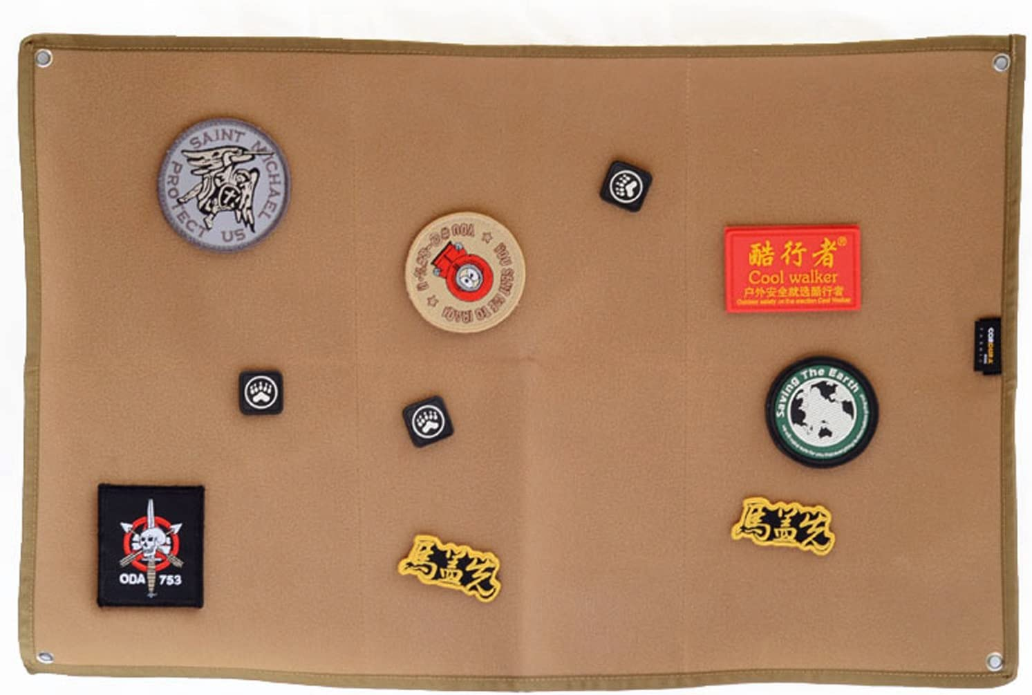 LytHarvest 58x38cm Tactical Patches Military Holde New York Mall Holder Patch Max 84% OFF