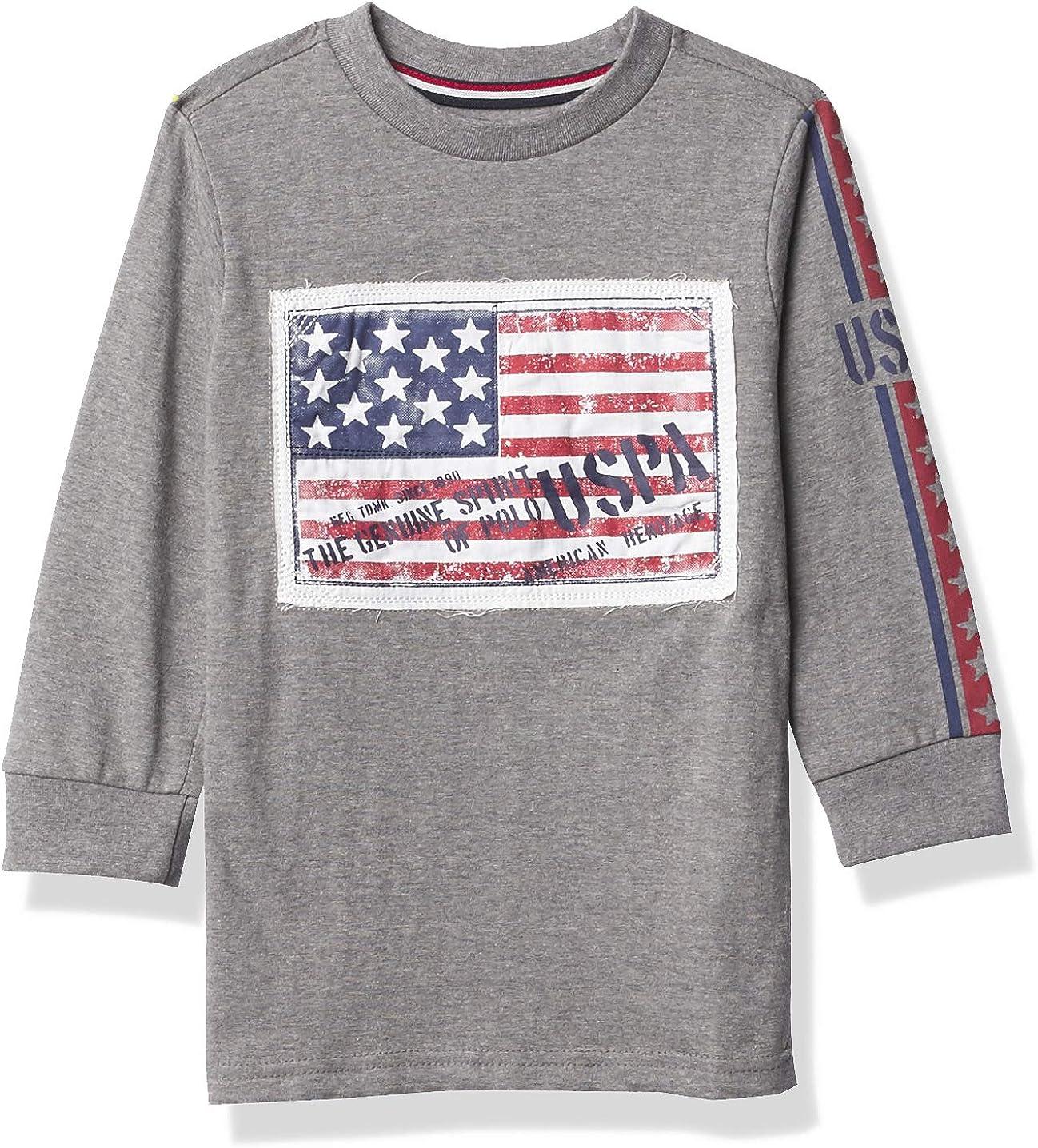 U.S. Polo Assn. Boys' Long Sleeve