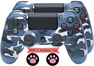 $73 » FJP Wireless Controller for Playstation 4, Game Console PS4 Gamepad Bluetooth Wireless Controller Dual Vibration (with 2pc...