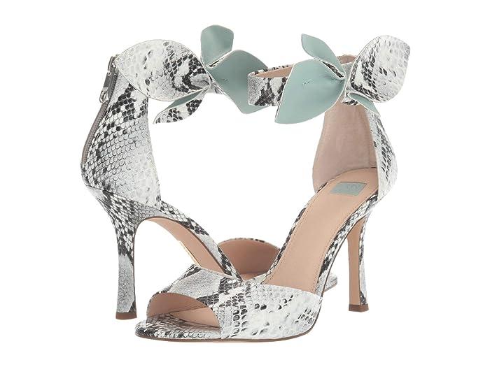 Louise et Cie  Kenbeck (Black/White/Chiffon Mist) Womens Dress Sandals