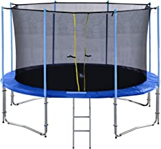 18 ft trampoline with enclosure
