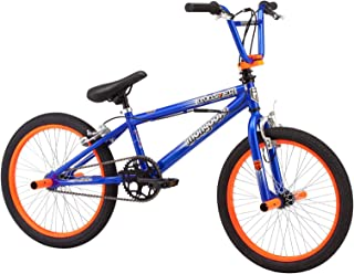 Mongoose 20 Inch Boy's Booster BMX Bicycle - Multi Color, R2100KMH