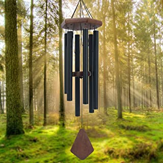 Memorial Wind Chimes Outdoor Large Deep Tone, 30'' Amazing Grace Wind Chime Outdoor, Sympathy Wind-Chime Personalized With...