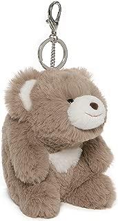 GUND Snuffles Teddy Bear Stuffed Animal Plush Keychain Taupe 5†