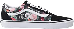 (Garden Floral) Black/True White