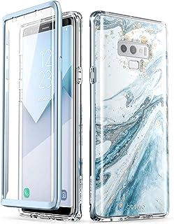 i-Blason Cosmo Full-Body Glitter Bumper Protective Case for Galaxy Note 9 2018 Release Galaxy-Note9-Cosmo-SP-Blue