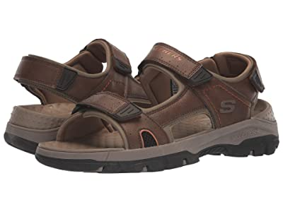 SKECHERS Tresmen Hirano (Brown) Men