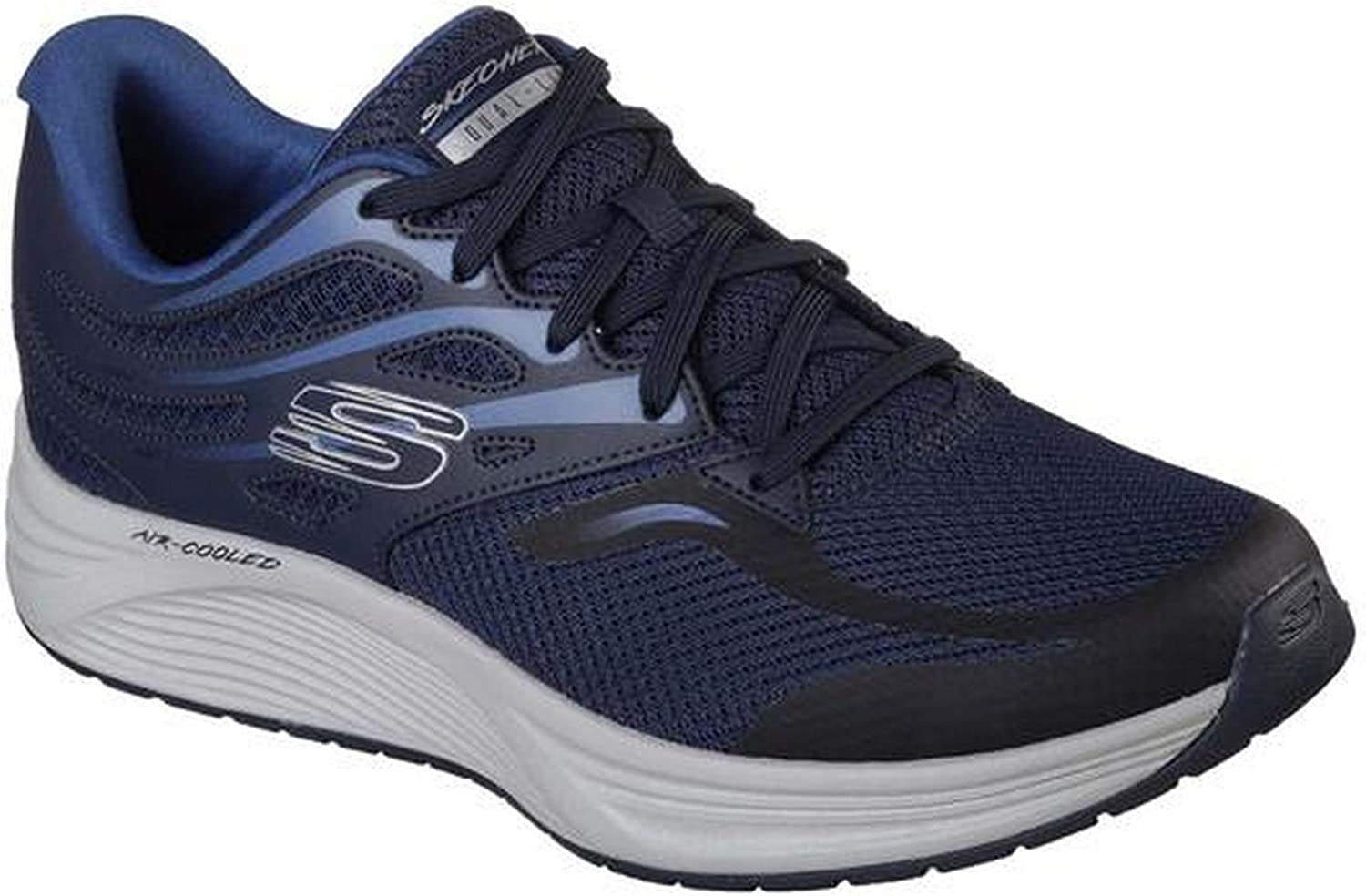 Skechers Mens Skyline Brightshore Lace Up Sneakers