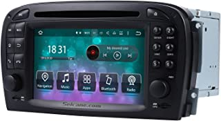 Android 9.0 GPS Navigation System for Mercedes SL R230 SL350 SL500 SL55 SL600 SL65 2001-2004 with DVD Player Touch Screen Radio Bluetooth WiFi
