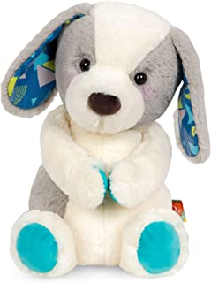 B. toys by Battat Happy Hues – Candy Pup – Huggable Dog Stuffed Animal Toy – Soft & Cuddly Plush Puppy – Washable – Newbor...