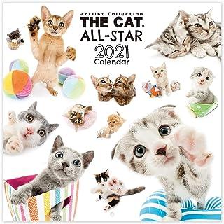 THE DOG 2021年 THE CAT カレンダー 大判サイズ 壁掛け用 (THE CAT ALL-STAR) [2020年9月~2021年12月]