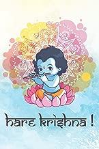 Hare Krishna: Bhakti Devotee Notebook Journal Sketchbook Blank Paper Diary Daily Devotion