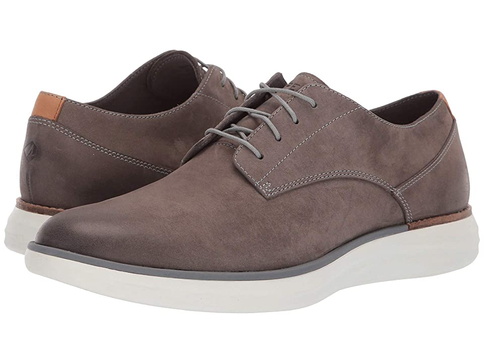 Sperry Regatta Oxford (Grey Leather) Men