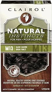Natural Instincts For Men Haircolor M13 Dark Brown 1 Each