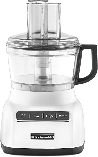 new arrival KitchenAid lowest new arrival KFP0711WH Food Processor, 7 Cup, White outlet sale